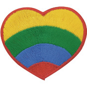 Tees & Novelties Patches For Everyone Iron-On Appliques-Primary Rai Wholesale Bulk