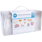 Wilton Candy Mold Set 10/Pkg Wholesale Bulk