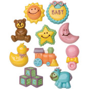 Wilton Candy Mold-Baby 2/Pkg Wholesale Bulk