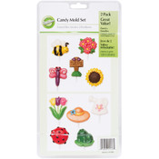 Wilton Candy Mold-Bugs & Garden 2/Pkg Wholesale Bulk