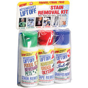 Lift Off Travel Size Stain Removal Kit- 3/Pkg