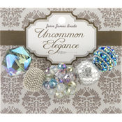 Jesse James Uncommon Elegance Beads 5/Pkg-Style 7 Wholesale Bulk