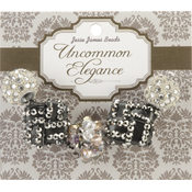 Jesse James Uncommon Elegance Beads 5/Pkg-Style 10 Wholesale Bulk