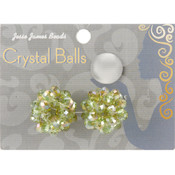 Jesse James Crystal Ball Bead Cluster 6mm 2/Pkg-Style 9 Wholesale Bulk