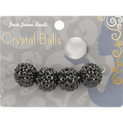 Jesse James Crystal Ball Bead Cluster 16mm 4/Pkg-Style 26 Wholesale Bulk