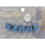 Jesse James Crystal Ball Bead Cluster 14mm 5/Pkg-Style 29 Wholesale Bulk