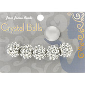Jesse James Crystal Ball Bead Cluster 14mm 5/Pkg-Style 30 Wholesale Bulk