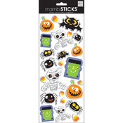 "Puffy Stickers 5.5""X12"" Sheet-Halloween-Characters"
