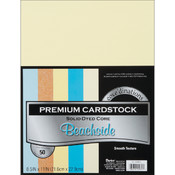 Darice Value Pack Cardstock 8.5'X11' -Beachside - Smooth Wholesale Bulk