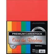 Darice Value Pack Cardstock 8.5'X11' -Primary - Smooth Wholesale Bulk
