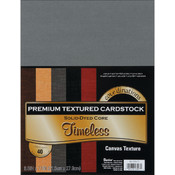 Darice Value Pack Cardstock 8.5'X11'-Timeless - Textured Wholesale Bulk