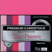 Darice Value Pack Cardstock 12'X12' -The Princess- Smooth Wholesale Bulk