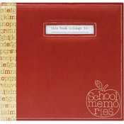 MBI School Memories Scrapbook 12'X12' Wholesale Bulk