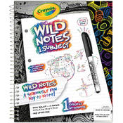 Crayola Wild Notes 1 Subject Notebook Wholesale Bulk