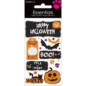Essentials Dimensional Stickers-Happy Halloween
