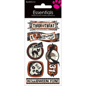 Essentials Dimensional Stickers-Halloween Party