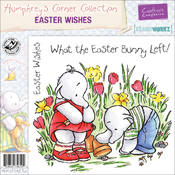 Humphrey&#39;s Corner EZMount Cling Stamps-Easter Wish