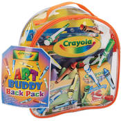 "Crayola Art Buddy Back Pack-8""X8.5""X4.5"""