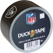 Shurtech Printed NFL Duck Tape 1.88' Wide-Oakland Raiders Wholesale Bulk