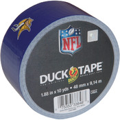 Shurtech Printed NFL Duck Tape 1.88' Wide-Minnesota Vikings Wholesale Bulk