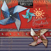 Summer Die-Cut Book-Makes 160 Pinwheels