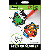 Color My Own Iron-On Art-Owls