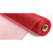 Canvas Corp Deco Mesh Ribbon 21' X 10 Yards-Red Wholesale Bulk