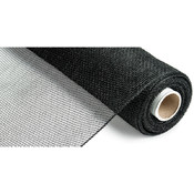 Canvas Corp Deco Mesh Ribbon 21' X 10 Yards-Black Wholesale Bulk