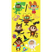 Sticko Halloween Stickers-Costume Kid