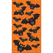 Sticko Halloween Stickers-Bat Crazy