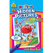School Zone My First Little Busy Book-Hidden Pictures Wholesale Bulk