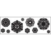 Clear Photopolymer Stamps-Vintage Doilies