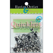 Eyelet Outlet Quicklets Round 84/Pkg-Winter 2