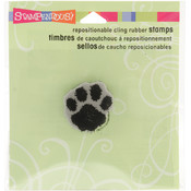 Stampendous Cling Rubber Stamp-Large Paw
