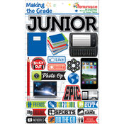 Making The Grade Dimensional Stickers-Junior
