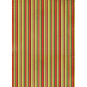 Kaisercraft Wrapping Paper 19.5'X27'-Vintage Stripe Wholesale Bulk
