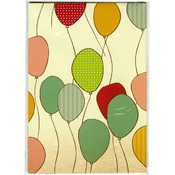 Kaisercraft Wrapping Paper 19.5'X27' (495mm X 690mm)-Balloons Wholesale Bulk