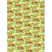 Kaisercraft Christmas Wrapping Paper 19.5' x 27'-Santa Wholesale Bulk