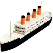 Wood Model Kit-Titanic