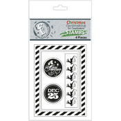 Fundamentals Petites Clear Stamps-Christmas Seals