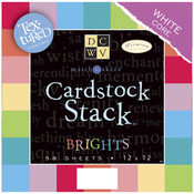 "Match Makers Textured Brights Cardstock Stack 12""X"