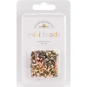 Doodlebug Mini Brads 1/8' 100/Pkg-Metallic Wholesale Bulk