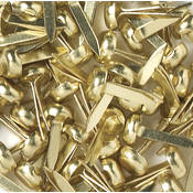 Doodlebug Mini Brads 1/8' 25/Pkg-Brass Wholesale Bulk