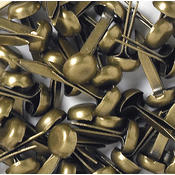 Doodlebug Mini Brads 1/8' 25/Pkg-Antique Brass Wholesale Bulk