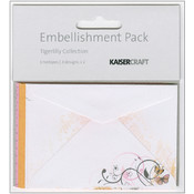 Kaisercraft Tigerlilly Embellishment Pack, Printed Envelopes Wholesale Bulk