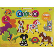 Perler Fuse Bead Value Activity Kit-Fun Fusion/Pet