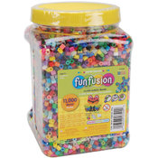Perler Fuse Beads 11,000/Pkg-Fun Fusion/Multi Mix