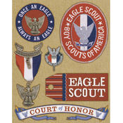 Boy Scouts Of America Embellishments- Eagle Scout