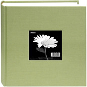 Pioneer Cloth Photo Album With Frame 9'X9'-Sage Green Wholesale Bulk