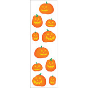 Mrs. Grossman's Stickers-Halloween Pumpkins